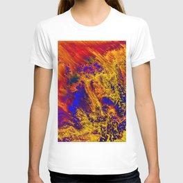 abstract data T-shirt