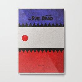The Evil Dead Metal Print