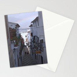 Calle Mejor, Altea, Costa Blanca, Spain. Stationery Cards