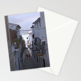 Calle Mejor, Altea, Costa Blanca, Spain. Stationery Cards