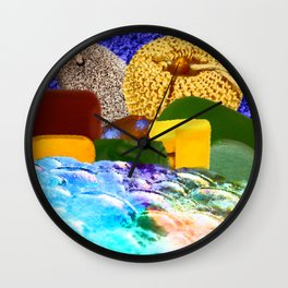 Bubble Bath Wall Clock