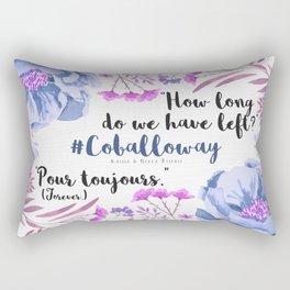 Pour Toujours Rectangular Pillow