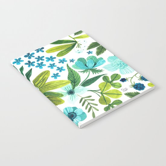 FLORA BLUES Notebook