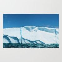 labrador Area & Throw Rugs featuring Labrador Iceberg by Shaun Lowe