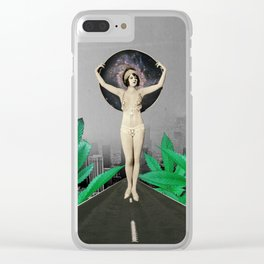 Another World Clear iPhone Case
