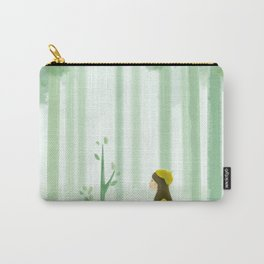 Heart Girl In Forest Carry-All Pouch