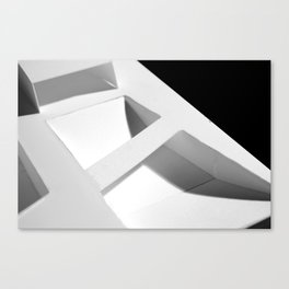 Elevated Grid Canvas Print