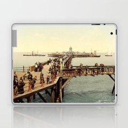 1890 Victorian Jetty in Margate Kent Laptop & iPad Skin