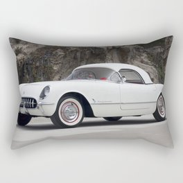 1955 Corvette Rectangular Pillow