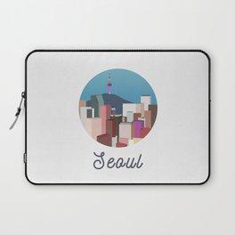 Seoul City Art Laptop Sleeve