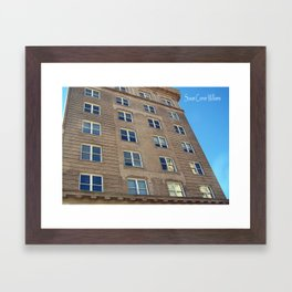 Self Help Credit Union Downtown Durham NC Framed Art Print