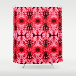 Dandelions Radiantred Shower Curtain
