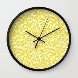 Lemon Toss Wall Clock