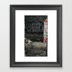 Demolished Providence Framed Art Print