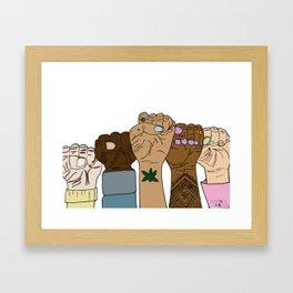 The Same for Everyone Framed Art Print