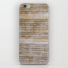 unplayed piano iPhone & iPod Skin