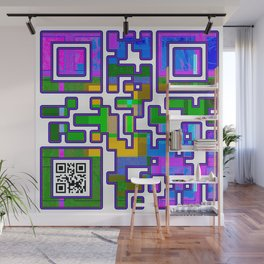 Courage QR Code Wall Mural