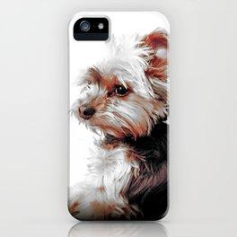 Yorkie | Dog | Dogs | Bad Day eh? | Nadia Bonello iPhone Case