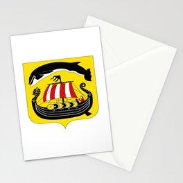 flag of Sandefjord Stationery Cards