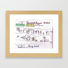 Max Morrocco: Issue 2 Framed Art Print