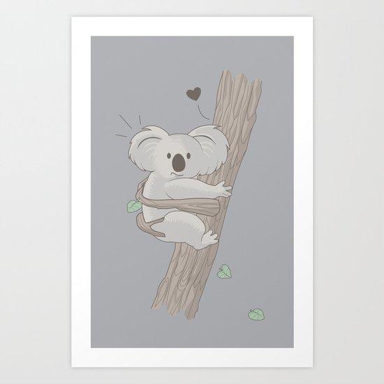 I Love You Too Art Print