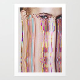 Teen Vogue #1 Art Print