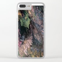 Old Tree's Spring Emerald Clear iPhone Case