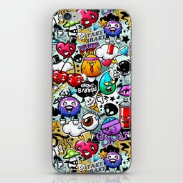 Bizarre Graffiti #1 iPhone Skin