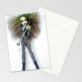 Female Beetle Juice Doll Stationery Cards