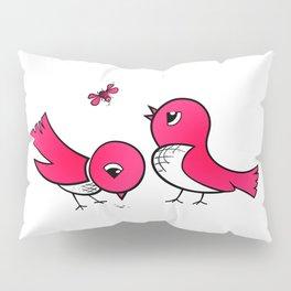 Cute little birds Pillow Sham