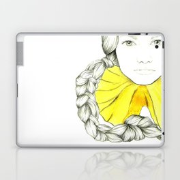 Frill Neck Lady Laptop & iPad Skin