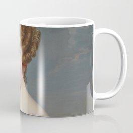 Portrait of Elise Dorothea Friederike by Ernst Thelott Coffee Mug