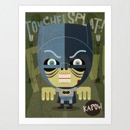 west kapow Art Print