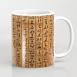 Hieroglyphs - Book of the dead Coffee Mug