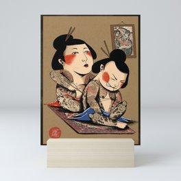 Japanese Tattoo  Mini Art Print