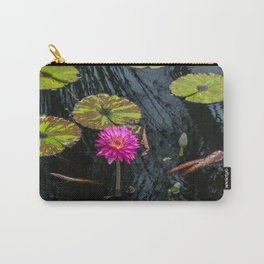 Amazonian Water Lily Carry-All Pouch