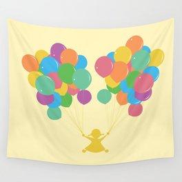 Balões Wall Tapestry