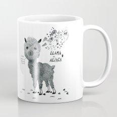 llama or alpaca Mug
