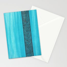 Light Blue Background Stationery Cards