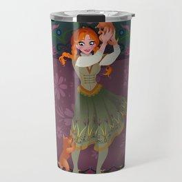 Frozen Anna Casual Travel Mug