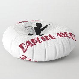 Dancing Mood Floor Pillow
