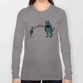 ahhh!! Long Sleeve T-shirt