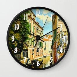 Venezia - Venice Italy Vintage Travel Wall Clock