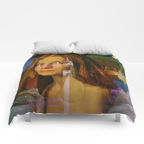 Are you going to Scarborough Fair? Comforters
