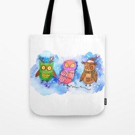 Christmas Owlies v2.0 Tote Bag