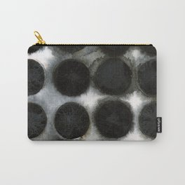 WATERCOLOUR DISCS: Black Spinel Carry-All Pouch
