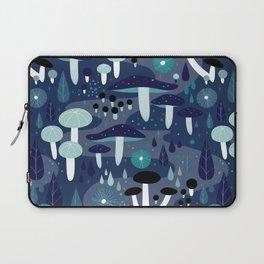 Midnight Mushrooms Laptop Sleeve