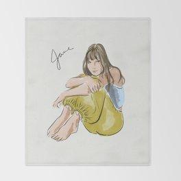 Jane Birkin Throw Blanket