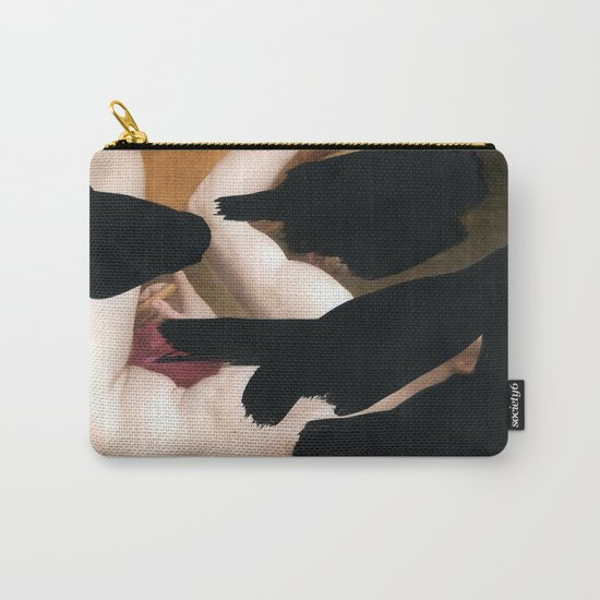 Brutalized Old Master Carry-All Pouch