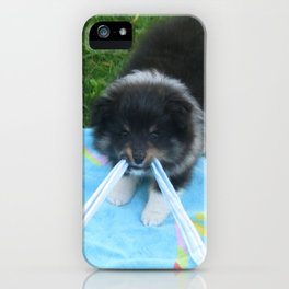 puppy mcgee iPhone Case